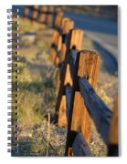 Sunset Fence Spiral Notebook