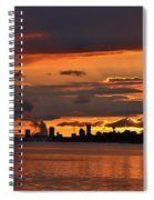 Sunset Flight Of The Tern Spiral Notebook