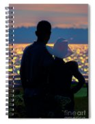 Sunset For Two Spiral Notebook