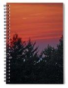 Sunset From Bear Path Spiral Notebook