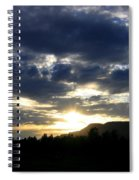Sunset From Mcarthur Island Spiral Notebook