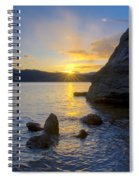 Sunset From Tubbs Hill Spiral Notebook