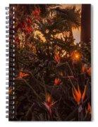 Sunset Garden Spiral Notebook