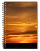 Sunset Gate 17 Spiral Notebook
