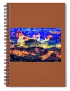 Sunset Glow At Mather Point Spiral Notebook
