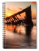 Sunset Glow 0016 Spiral Notebook