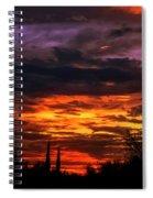 Sunset H16 Spiral Notebook