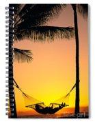 Sunset Hammock Spiral Notebook