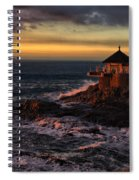 Sunset Hdr Spiral Notebook