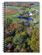 Sunset Hill Farms Indiana  Spiral Notebook