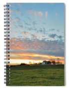 Sunset Home Spiral Notebook