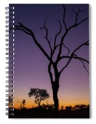Sunset In Africa Spiral Notebook