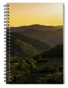 Sunset In Appalachia Spiral Notebook