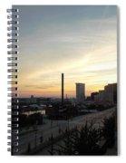 Sunset In Cleveland Spiral Notebook