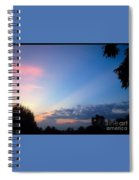 Sunset In Early Evening Spiral Notebook