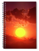 Sunset In Egypt 9 Spiral Notebook