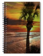 Sunset In Florida Spiral Notebook