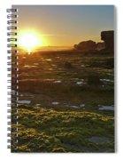 Sunset In Gale Beach. Albufeira, Portugal Spiral Notebook