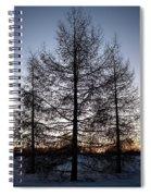 Sunset In Kemi Spiral Notebook