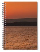 Sunset In Lassi Spiral Notebook