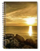 Sunset In Montego Bay Spiral Notebook
