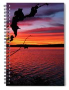 Sunset In Pennsylvania Spiral Notebook