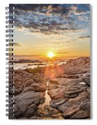 Sunset In Prospect, Nova Scotia Spiral Notebook