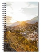 Sunset In Sion Spiral Notebook