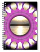 Sunset In Summertime Spiral Notebook