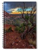 Sunset In The Garden Of Eden Spiral Notebook