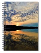 Sunset In The Pinelands  Spiral Notebook
