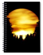 Sunset In The Round Spiral Notebook