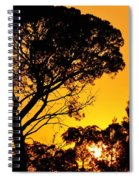 Sunset In Tujunga Spiral Notebook