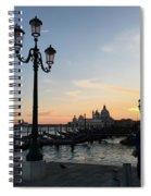 Sunset In Venice Spiral Notebook