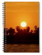 Sunset In Ventura Spiral Notebook