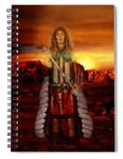 Sunset Indian Chief Spiral Notebook