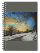 Solstice Spiral Notebook