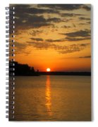 Sunset Lake Pat Mayse From Sanders Cove Spiral Notebook