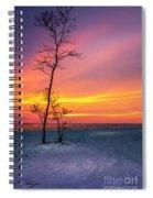 Sunset Light Spiral Notebook