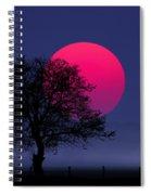 Sunset Magenta Spiral Notebook