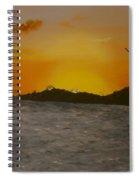 Sunset 6 Spiral Notebook