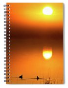 Sunset Marshes Spiral Notebook