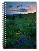 Sunset Meadow Trail Spiral Notebook