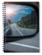 Sunset Mirror Spiral Notebook
