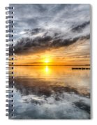 Sunset Mirroracle Spiral Notebook