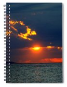 Sunset Montauk Ny Spiral Notebook