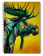 Sunset Moose Spiral Notebook