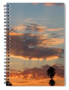 Sunset Moreno Valley Ca Spiral Notebook