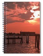 Sunset Newport Rhode Island Spiral Notebook