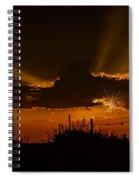 Sunset No.07 Spiral Notebook